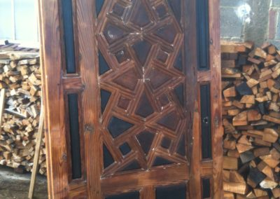 Part of our Grade 2 listed works at the Grove End Road Panelling job, Historic Joinery restoration . SA Spooner