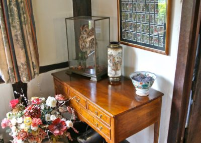 Walnut Queen Anne side table made to suit clients required sizes.  SASPOONER