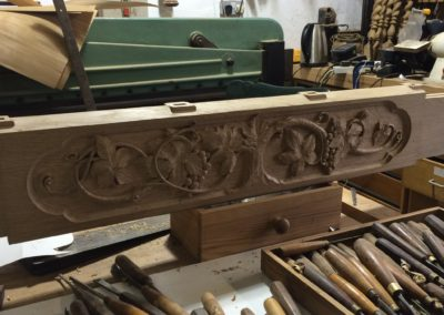 Vine Cottage relief carving iN our Gates page.SASPOONER