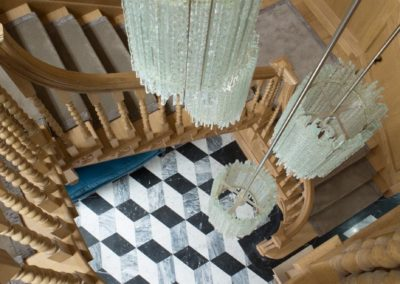 Grade 1 Queen Anne Staircase SASPOONER