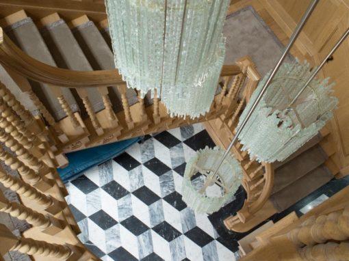 Queen Anne Grade 1 Staircase