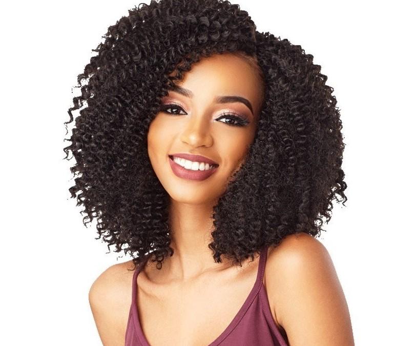 African Hair Braiding styles 2021-Crochet Haired Indian Girl