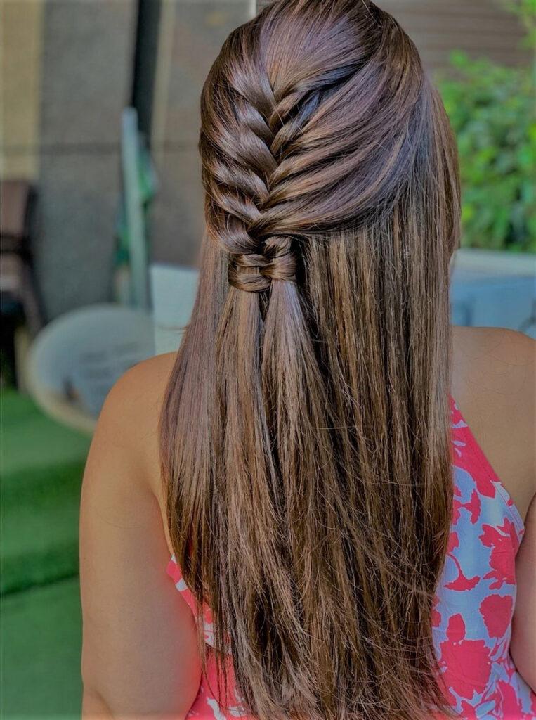 Natural Hair Braiding Styles 2021-Lace braid
