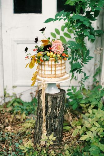 Semi Naked Cake - Image by Bowtie and Belle