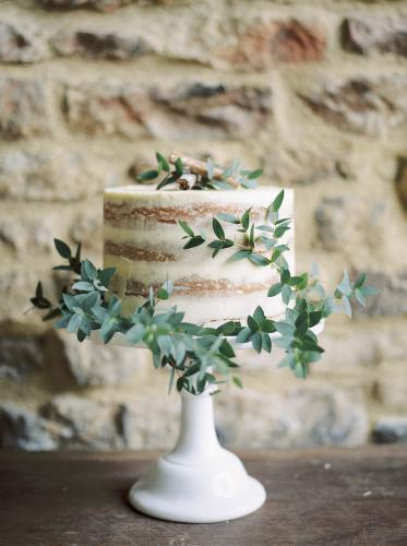 Semi Naked Wedding Cake - Image by Theresa Furey Photography - Styling by Wedding Creations