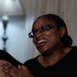 commissioner alice nderitu during a when interview with david roy in nairobi kenya