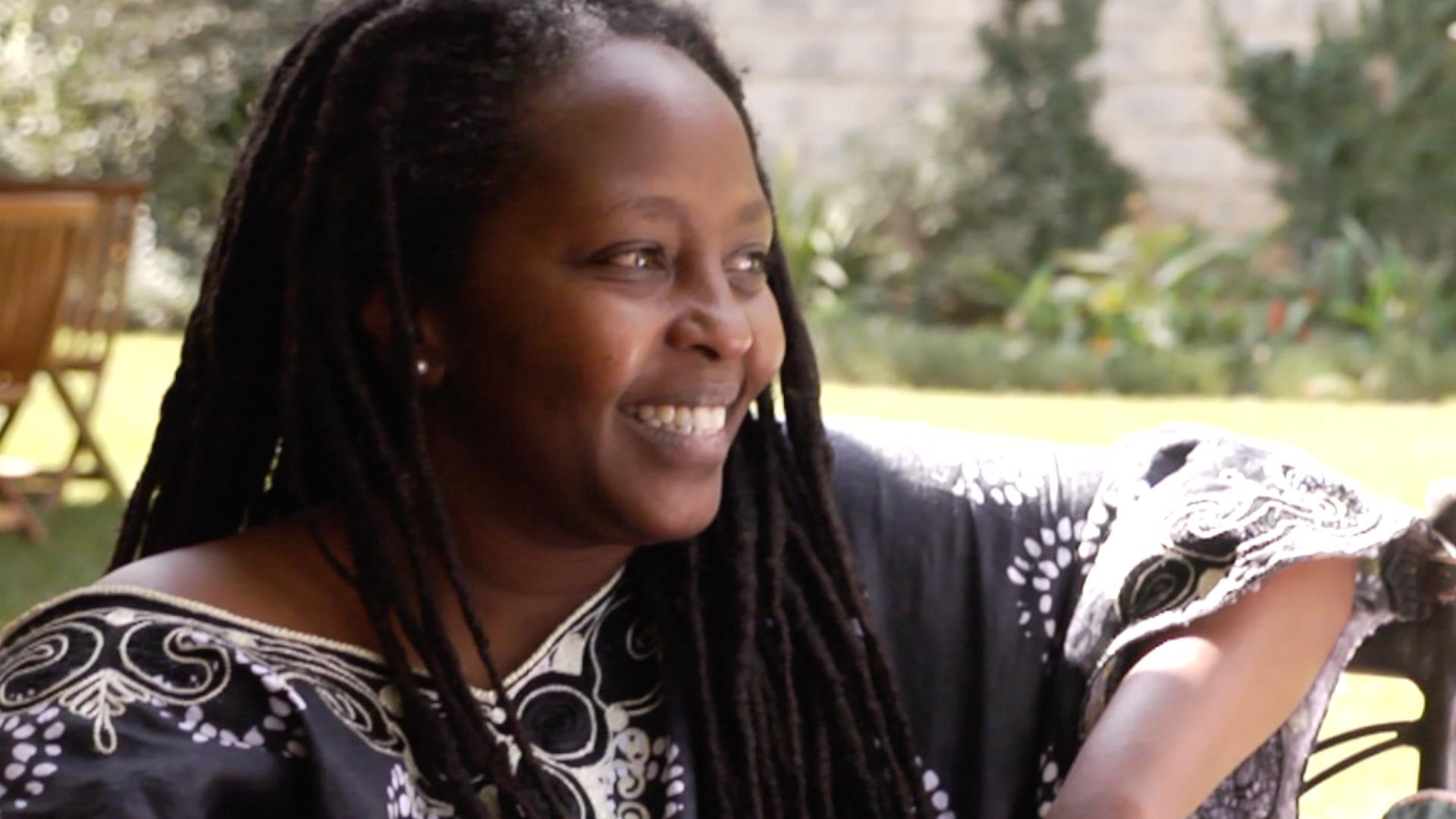 joy kiano of murangi homes during when interview with david roy in nairobi kenya