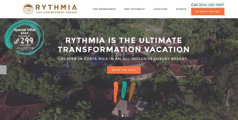 rythmia life advancement center costa rica