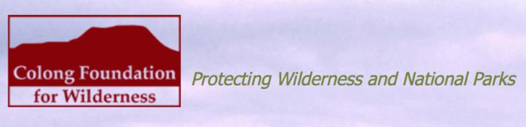 colong wilderness website