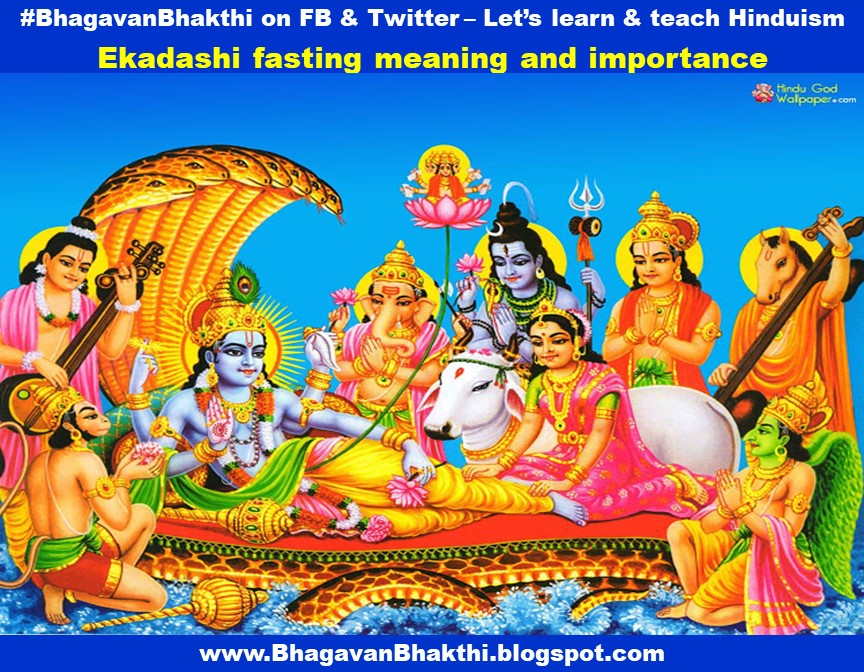 What is Ekadashi fasting meaning and importance | Why one should fast only on Ekadashi? | Why Ekadashi is considered auspicious | What is the relationship between science and Ekadashi fasting