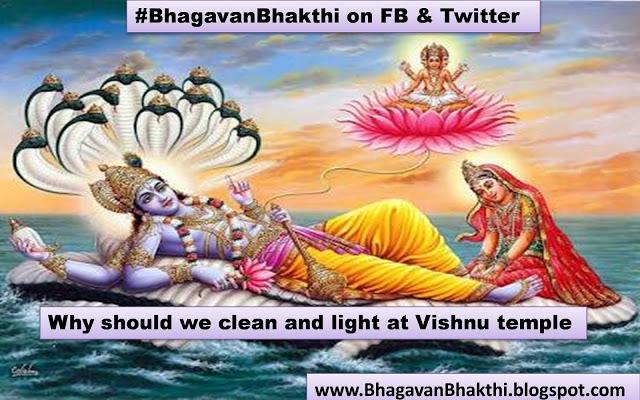 Why cleaning & lighting at Vishnu temple is important – Story of Yajnadhvaja