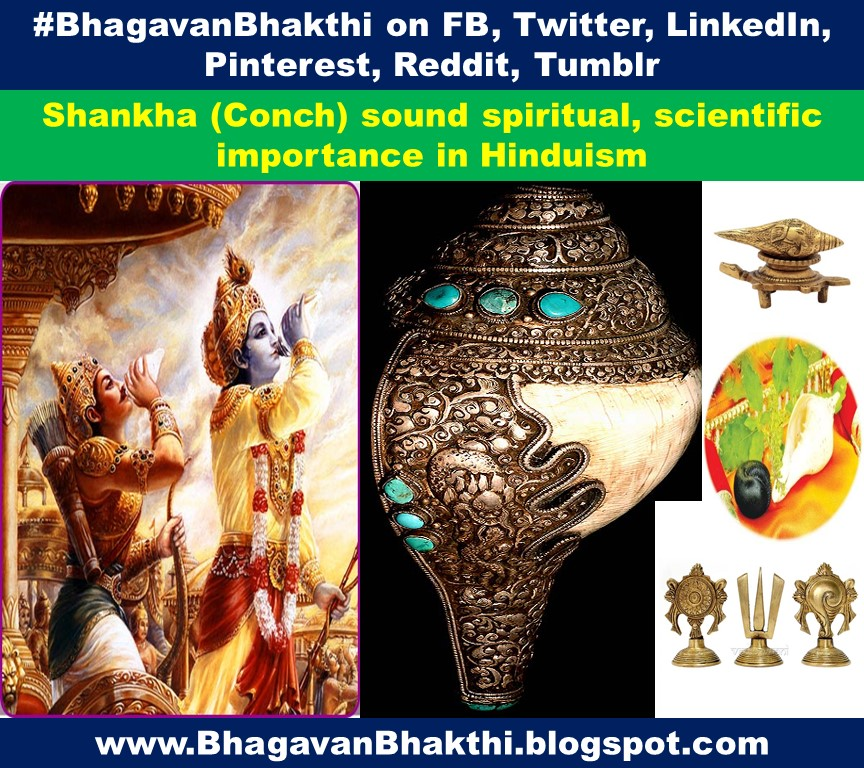 What are Shankh (Conch) sound spiritual, scientific importance in Hinduism