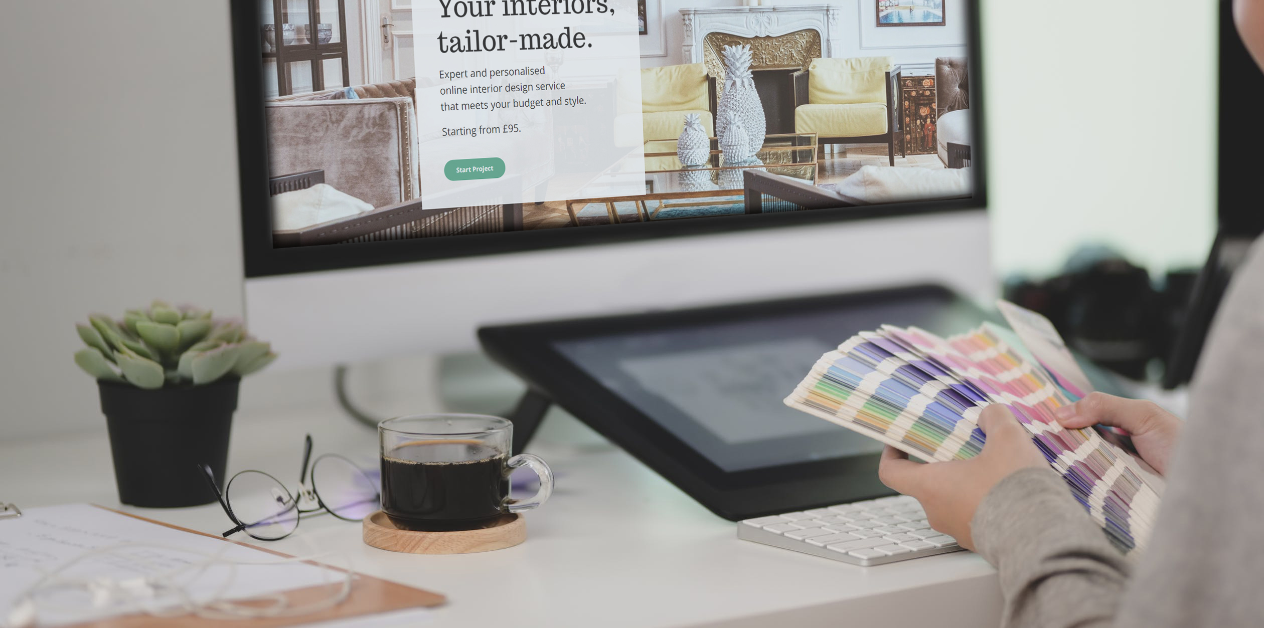 Online interior design could offer the same bespoke service at a more affordable price tag.
