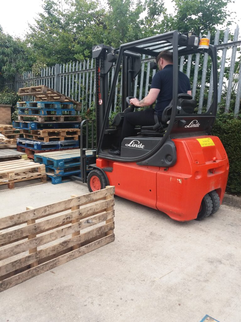 Forklift Truck in Accrington Company