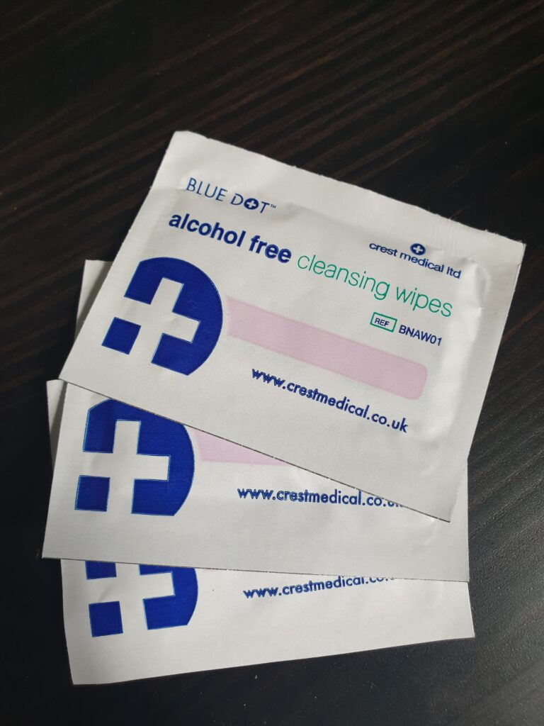 Alcohol Free Cleaning Wipes