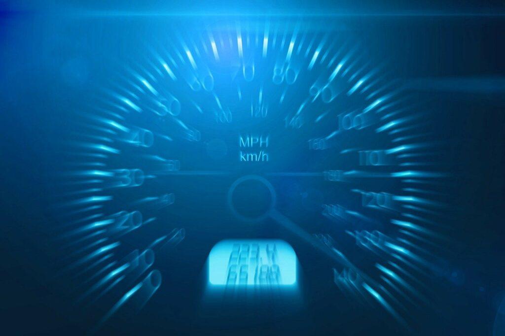 Speed Limit speedometer