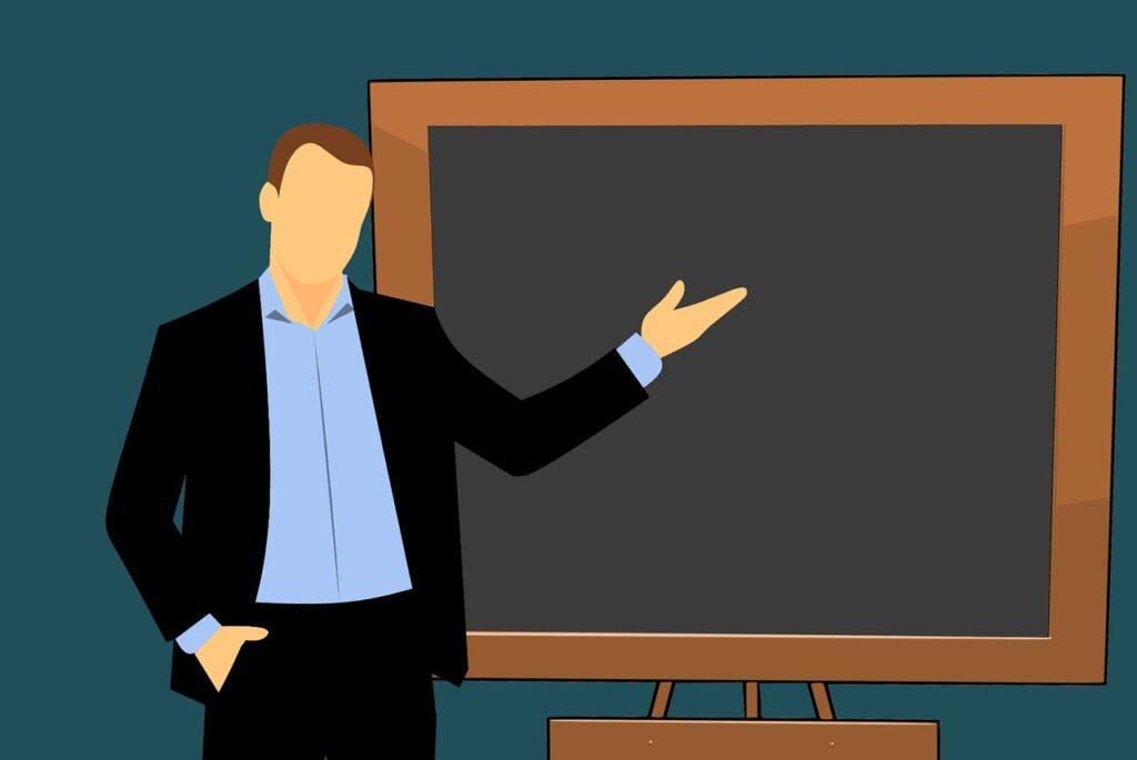 Teaching in Classroom