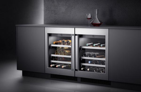 gaggenau 400 series wine climate cabinets