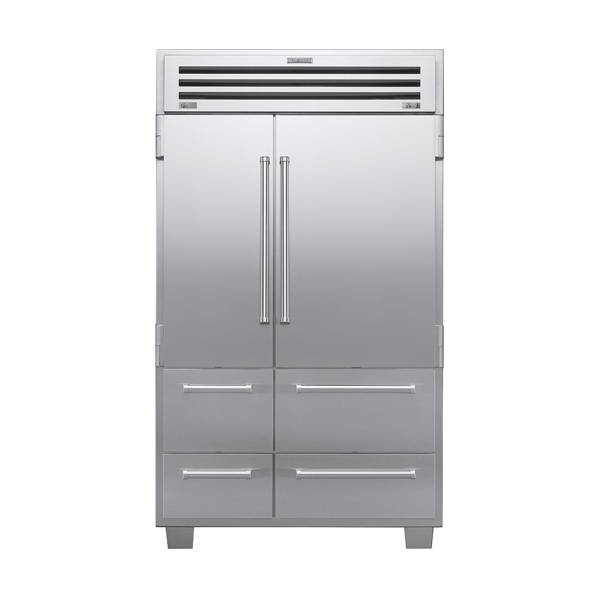 sub-zero ICB648PRO-side-by-side-refrigerator-freezer-with-solid-door