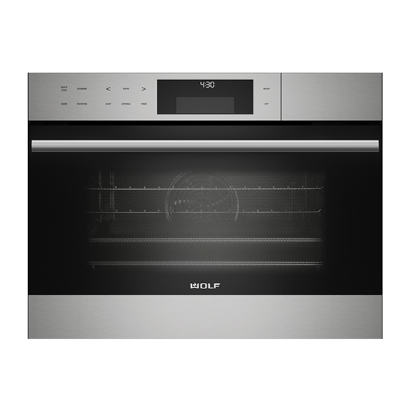 wolf - ICBCSO24TE_S_TH-60CM-E-SERIES-TRANSITIONAL-CONVECTION-STEAM-OVEN