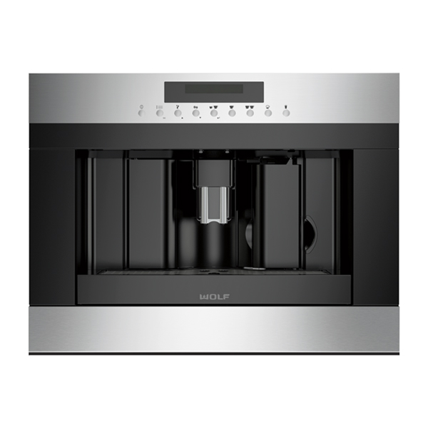 wolf - ICBEC24_S-600MM-COFFEE-SYSTEM-STAINLESS-STEEL