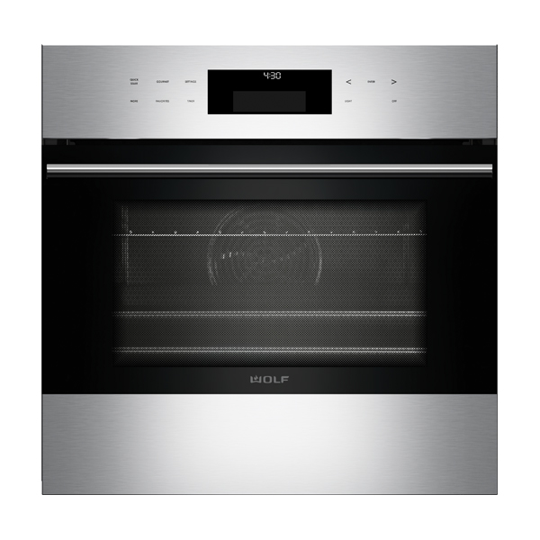 wolf ICBSO24TE_S_TH-LG-60CM-E-SERIES-TRANSITIONAL-SINGLE-OVEN
