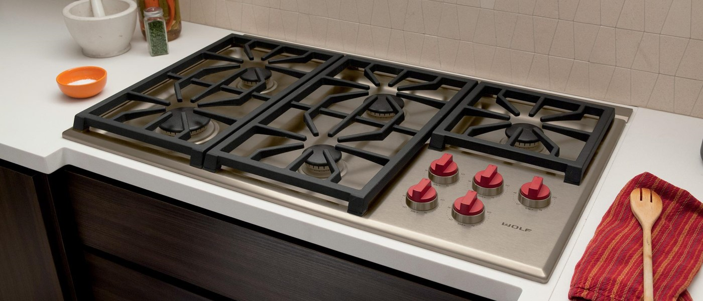 wolf gas cooktops