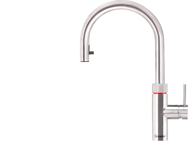 quooker - flex- Stainless steel