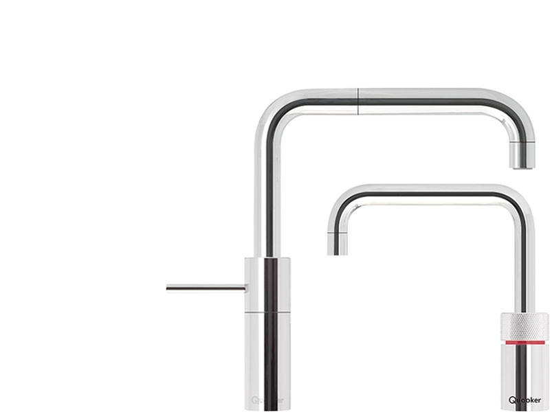 quooker - nordic square twintaps