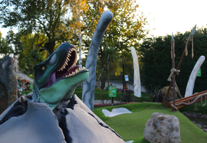 CrazyPutt Adventure Golf Course Nottingham