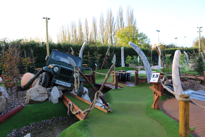 Family CrazyPutt Adventure Golf