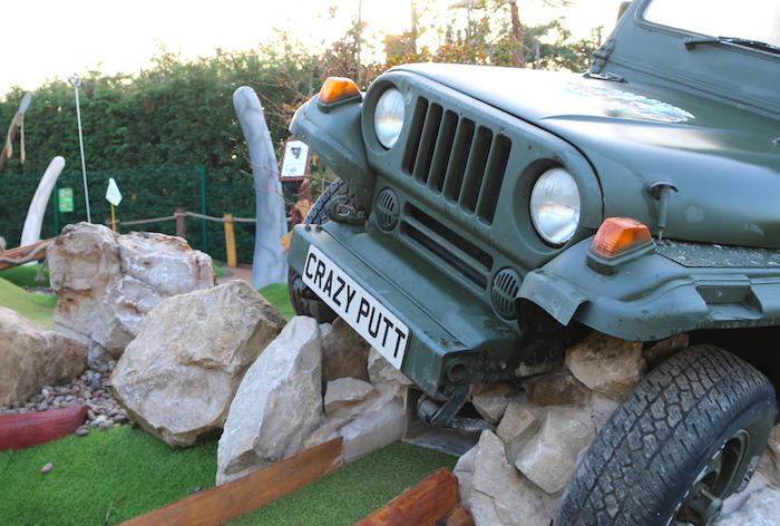 CrazyPutt Adventure Golf Nottingham