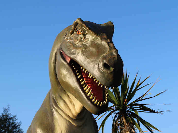 Dinosaur Lost World CrazyPutt Outdoor Golf Course Nottingham