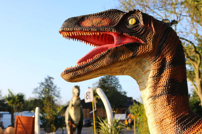 Outdoor CrazyPutt Adventure Golf Course Dinosaurs