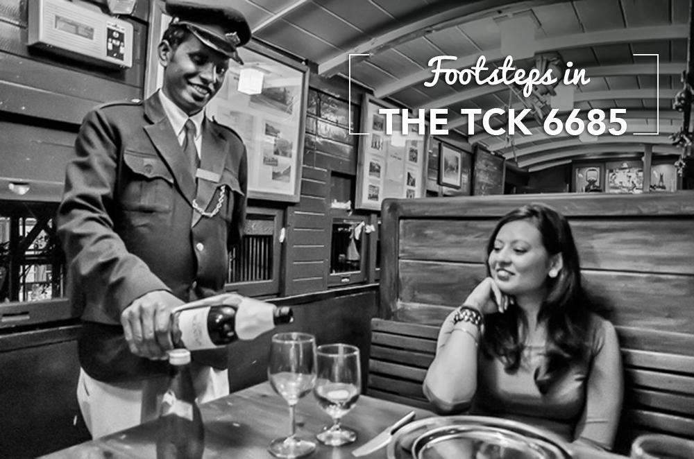 Footsteps aboard…the TCK 6685