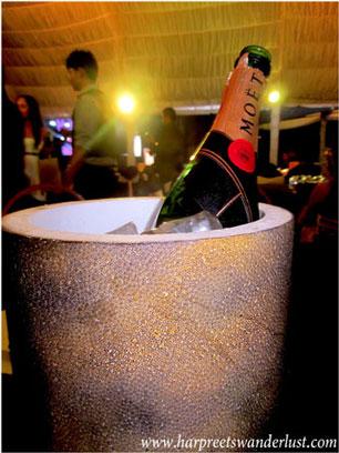 Bubbly. The epitome of a celebration.
