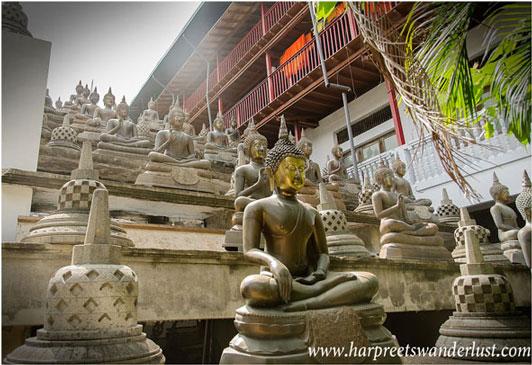 Buddha Images and Stupas