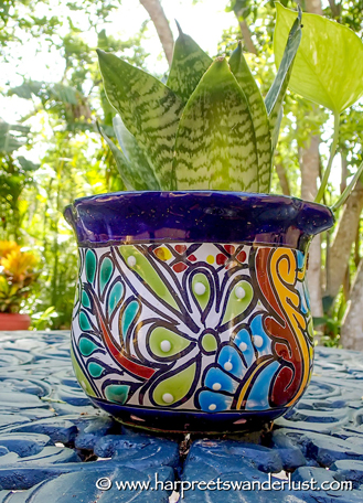 Such gorgeous, colourful earthenware