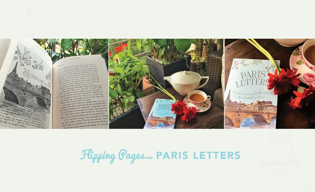 FLIPPING PAGES….PARIS LETTERS
