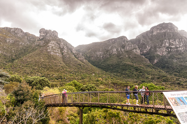 The Boomslang with Table Mountain in the background