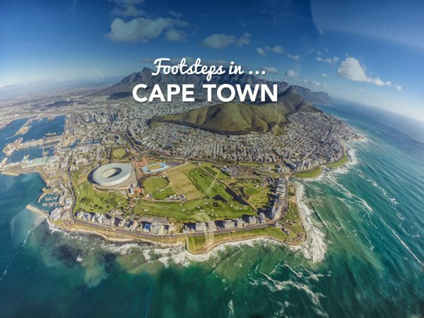 Footsteps in…Cape Town