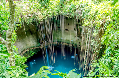 Stunning cenote Ik Kil...something out of a dream!