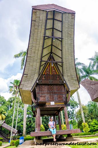 Sulawesi Type House in Taman Mini Indonesia