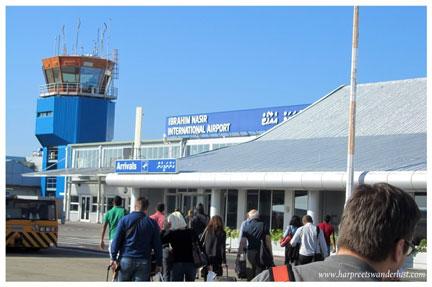 Male's Ibrahim Nasser International Airport