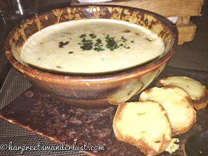 Soup Course - rustic, luscious white bean soup