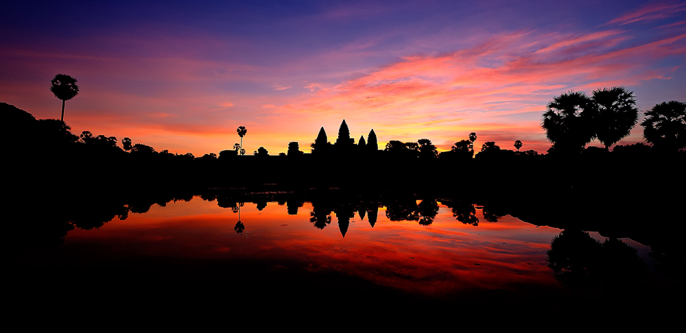 Daybreak over Angkor Wat