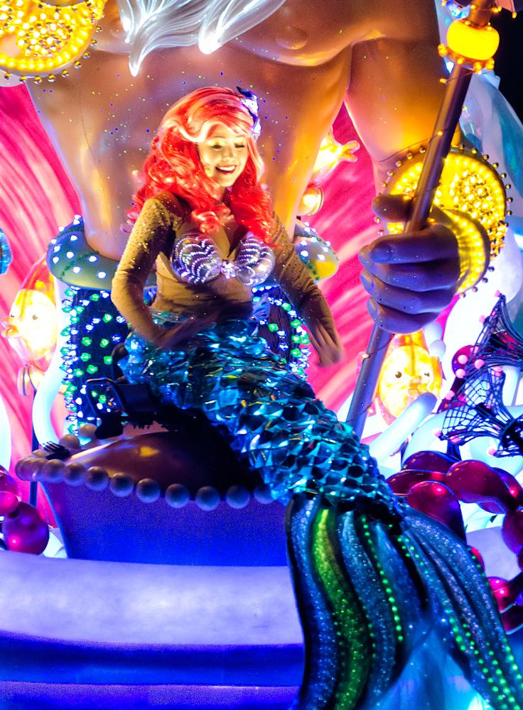 Ariel, under the sea!