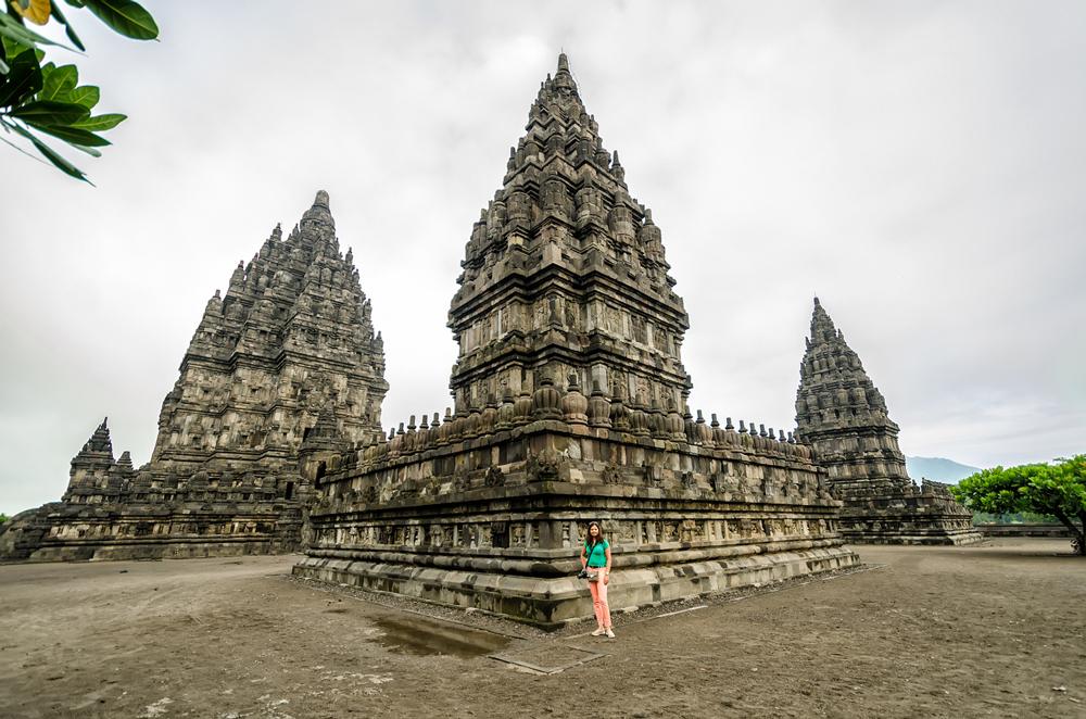 The spires of Candi Prambanan