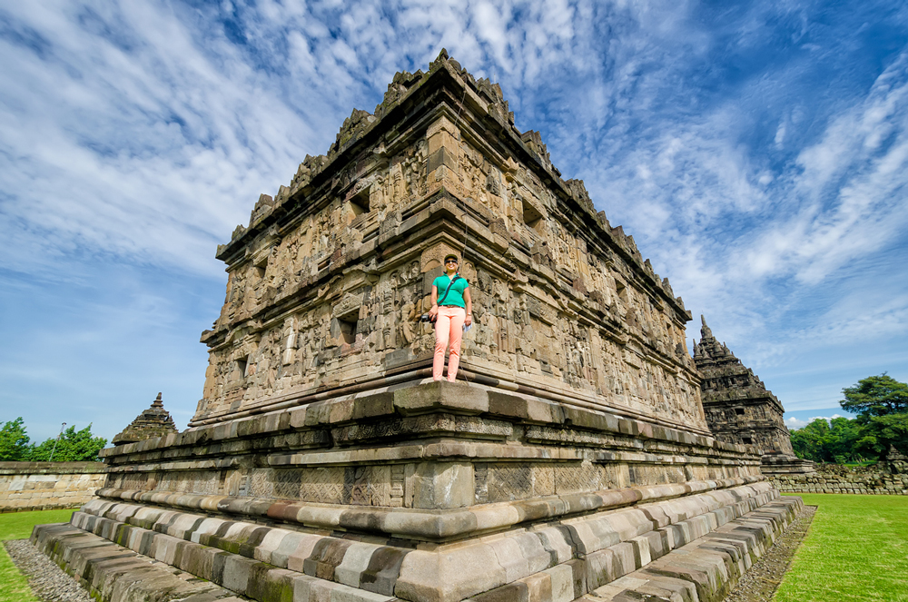 One of the temples at Candi Plaosan