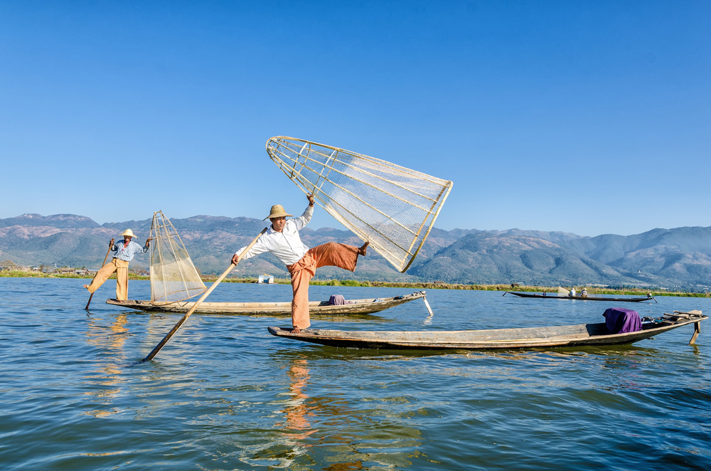 The Intha Fishermen of Lake Inle